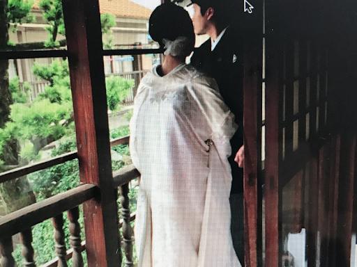 白無垢姿の花嫁様 和婚の前撮り和婚花嫁レンタル衣装佐賀福岡 出張ヘアメイク着付けまで 和婚をコーディネートいたします