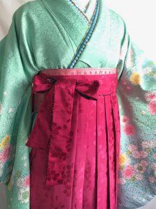 卒業式女子袴レンタル衣装ヘアメイク着付け杠(ゆずりは)