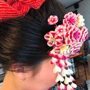 成人式レンタル衣装日本髪ヘアメイク着付け杠(ゆずりは)