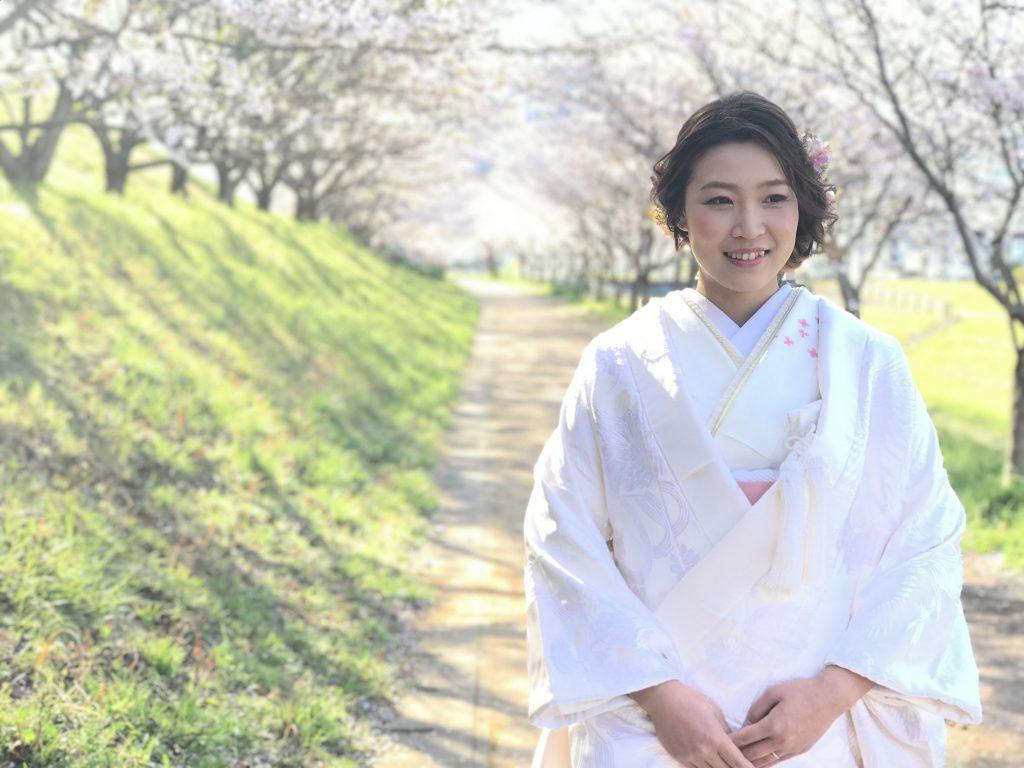 桜ウェディングフォト